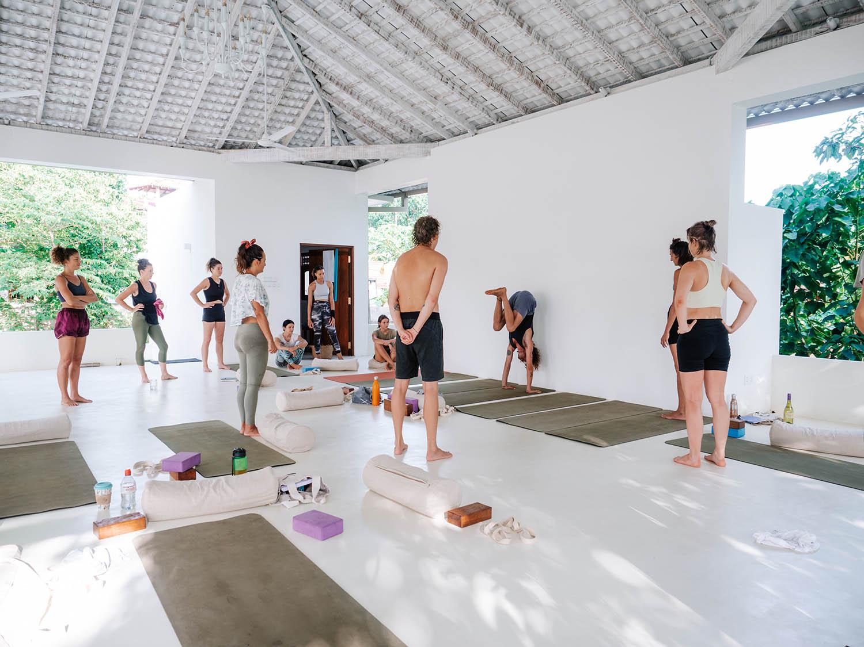 Yoga Teacher Training with Stefan Camilleri at Lanka Yoga